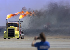 2016 Airpower over Hampton Roads Langley Air Show Va.  Shock Wave Jet Truck (watts_photos) Tags: show truck air over jet wave va shock roads hampton langley airpower 2016