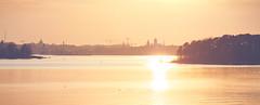 Helsinki Sunset (trm42) Tags: morning sunset sea nature silhouette suomi finland coast spring helsinki meri lauttasaari kevt aamu silhuetti rannikko