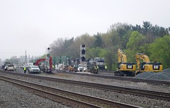 berea 037 (Fan-T) Tags: ohio tower work track ns gang mow berea