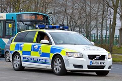 AJ58 WPK (S11 AUN) Tags: car volvo traffic 4x4 police vehicle motor roads emergency v50 d5 unit 999 merseyside rpu policing patrols anpr northwestmotorwaypolicegroup nwmpg aj58wpk