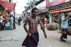 H504_3195 (bandashing) Tags: street england people man manchester pull muscle shops push cart rickshaw sylhet bangladesh fit socialdocumentary lean aoa bandashing akhtarowaisahmed