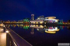 MediaCityUK2016.04.29-36 (Robert Mann MA Photography) Tags: city architecture night manchester spring nightscape cities tram salfordquays friday metrolink salford trams citycentre nightscapes 2016 greatermanchester manchestercitycentre manchestermetrolink mediacityuk 29thapril2016