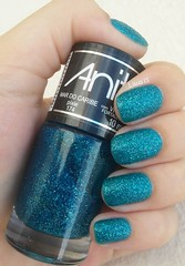 Mar do Caribe - Anita (lissa_is) Tags: sand nail anita nailpolish esmalte