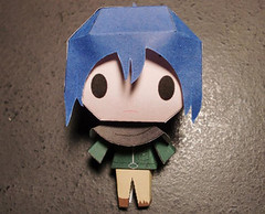 No. 6 - Chibi Nezumi Free Paper Toy Download (PapercraftSquare) Tags: chibi no6 nezumi