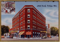 Hotel Rauff Color Postcard