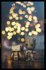 Merry Christmas from Danbo & Groot (Chaos2k) Tags: christmas xmas reflection tree photoshop canon toy lights dof bokeh presents westcott apollo manfrotto groot danbo 52weeks ef50mm 488rc2 alienbeesb800 strobist ab800 055xprob danboard canon5dmarkii danbomini brianboudreau popfunko pocketwizardplusiii 52weeksthe2015edition
