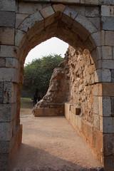 Door to another world (_NicoDem_) Tags: india canon mark delhi ii 5d complex qutub minar 2015 5dmarkii 5dmkii