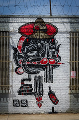 """El Mexican"" - Sheryo & The Yok (Mathilde Guerin) Tags: street new york city nyc usa streetart ny art america graffiti us artwork nikon mural outdoor modernart yok united urbanart states nikkor bushwick collective 18105 theyok sheryo 18105mm d5100 yokandsheryo"