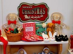 More Crafty Gifts Galore (rata-tat-tat) Tags: dolldiorama barbiediorama barbiehandmade