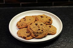 Tosi's CCC by Deb! (Kimberly C. Lee) Tags: chocolate homemade homecooking milkbar chocolatechip chocolatechipcookies homemadecookies homemadechocolatechipcookies christinatosi momofukumilkbar happygoriley