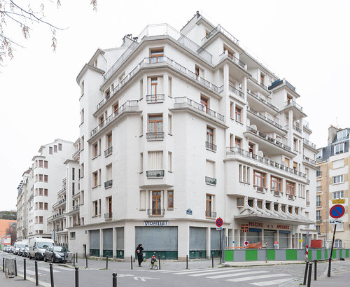 Henri Sauvage Apartment Building And Swimming Pool Rue Des Amiraux