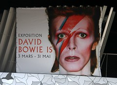 Tribute to David Bowie (1947-2016) (Sokleine) Tags: music paris france poster bowie pop tribute hommage legend icone davidbowie affiche 75019 philarmonie