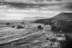Coastline I_bw (Joe Josephs: 2,600,180 views - thank you) Tags: california sunset landscape fineartphotography travelphotography californialandscape wildlifephotography outdoorphotography fineartprints joejosephsphotography
