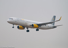 "A321 ""Possible by Vueling"" (Oscar Snchez Photo) Tags: by possible spotting a321 vueling lebl ecmgy"