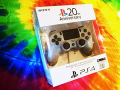 color station play sony psx videogame controller playstation 20th ps4 dualshock