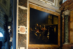 Caravaggio, Calling of St. Matthew, 1599-1600,