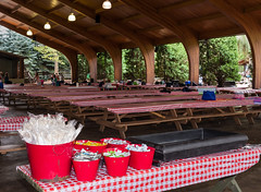 Waiting for another season (kwtracyghostship) Tags: summer table picnic kennywood companypicnic matthewsinternational kwtracyghostship