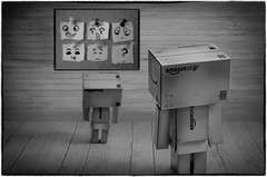 Mood Selection (Christine Smeath) Tags: blackandwhite bw nikon mood danbo danboard