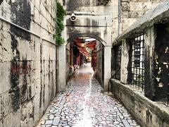 Alleyways of Istanbul, Turkey. (srivatsaray) Tags: turkey istanbul grandbazaar alleyways appleiphone iphone6splus