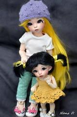 Two Sisters (Nana (◕‿‿◕。)) Tags: bjd fairyland ante ltf pkf littlefee littlefeeante ltfante pukifee pukifeeante pkfante
