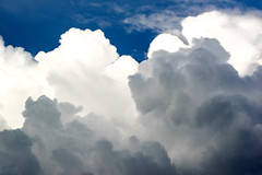 Pillow Clouds (MudflapDC) Tags: travel cruise vacation peru rain clouds river amazon jungle pe loreto excursion pacayasamirianationalreserve delfinii
