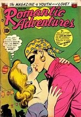 Romantic Adventures 30 (Michael Vance1) Tags: woman man art love comics artist marriage romance lovers dating comicbooks relationships cartoonist anthology silverage