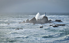 Southerly storm (pa.herbert) Tags: sea lighthouse waves jersey channelislands corbiere