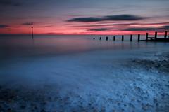 Pebbles (Pedrosky.) Tags: longexposure sunset sea seascape kent groyne hythe
