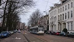 Les = More (Peter ( phonepics only) Eijkman) Tags: city holland netherlands amsterdam transport nederland tram rail rails trams noordholland gvb tramtracks combino nederlandse
