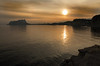 IMG_8171 Golden evening  - Seen in Explore - 2016-01-24 # 167 (jaro-es) Tags: sea españa sol water clouds canon gold evening abend spain agua wasser wolken explore sonne spanien calpe costablanca peñondeifach spanelsko penyaldifach eos70d