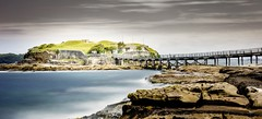 La Perouse (Martin Snicer Photography) Tags: ocean longexposure travel tourism water landscape island fort bare sydney australia picturesque 6d laperouse bareisland