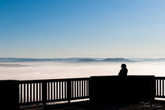 World. (Tristan K.) Tags: world shadow panorama cloud mist mountain mountains fog clouds landscape peace infinity calm valley rest sight contemplation emptyness massifcentral