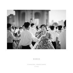 Dance (reubenteo) Tags: life people blackandwhite vintage war asia respect transport korea retro kimjongil northkorea dprk kimilsung kimjongun