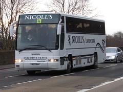 IIG 7764 (Cammies Transport Photography) Tags: road england bus scotland volvo coach edinburgh rugby v premiere specials laurencekirk corstorphine plaxton iig 7764 of nicolls iig7764