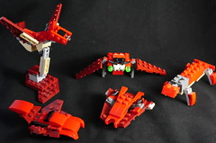Going nuts with 31032 (phayze81) Tags: lego moc microspace 31032 legobird altbuild