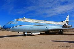 Sud est SE-210 Caravelle VIR n 86 ~ N1001U (Aero.passion DBC-1) Tags: museum plane tucson aircraft aviation muse pima preserved avion airmuseum sud est airspacemuseum caravelle se210 aeropassion musedelair dbc1 prserv n1001u