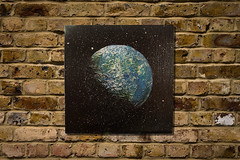 Earth (colorprojectart) Tags: art japan modern painting studio japanese tokyo paint gallery artistic earth modernart space painted exhibition pop spray textures popart painter planet spraypaint artworks tomoya artstudio sprayer artistonflickr