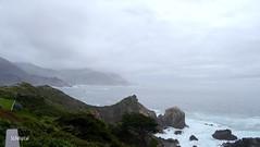 Big Sur Coastline (SLDdigital) Tags: ocean california rain fog clouds bigsur pacificocean pacificcoasthighway rockypointrestaurant bigsurcoastline californialandscapes calandscapes slddigital