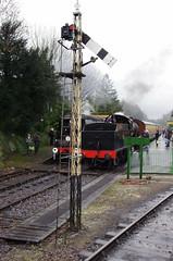 IMGP8401 (Steve Guess) Tags: uk england train engine railway loco hampshire steam gb locomotive bluebell alton 060 ropley alresford hants fourmarks medstead qclass 30541