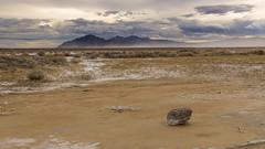 Desert Wind Storm (hawaiiansupaman) Tags: rock sand wind salt cloudysky deathvalleynationalpark