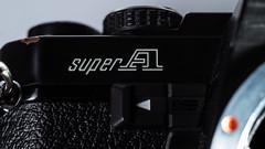 Super A (Silaris Inc.) Tags: kamera makro nahaufnahme pentax schriftzug supera k30