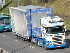 Armstrong (fannyfadams) Tags: bangor load gwynedd a55 scaniarseries armstrongtransportservices northwalesukirishirelandstgoabnormal