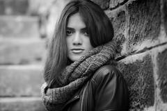 Najwa (aminefassi) Tags: africa street portrait people copyright woman beauty fashion rock model noiretblanc outdoor morocco maroc scala casablanca mode 135mm modele  login  najwa fashionportrait 135mmf2l  aminefassi najwasabbar