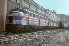 Amtrak E9 405 (Chuck Zeiler) Tags: railroad 405 amtrak locomotive e9 chz emd