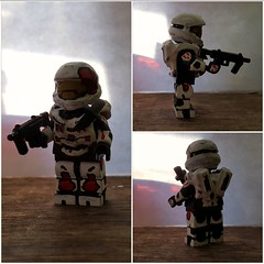 Halo spartan (Grim Customs) Tags: lego chief halo master minifig custom masterchief redvsblue halo3 halo4 halo5