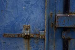 Cerradura ~Explore~ (Monica Fiuza) Tags: blue azul puerto