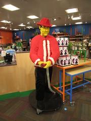Lego Fireman (Mr KLF) Tags: lego connecticut center science fireman hartford 2016