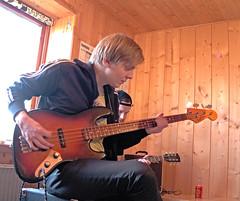 The Absent Silver King (Jan Egil Kristiansen) Tags: concert bass guitar faroeislands heima nlsoy img2200 theabsentsilverking lvbeinir heimanlsoy2016 heimafestival
