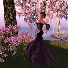 FFL Exclusive! (GiGi Glamista) Tags: purple feather lavender romantic gems mock elegance luxurious semiprecious ffl glamorize fashionforlife glamaffair poshpixels rezology