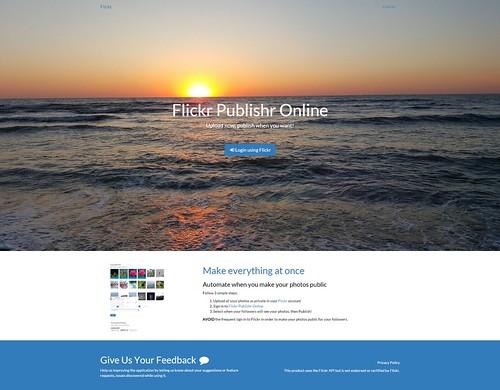 Flickriver: Flickr API pool